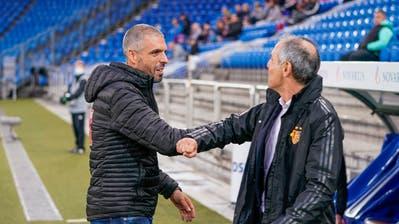 Wird Fabio Celestini (links) Nachfolger von Marcel Koller beim FC Basel? (Martin Meienberger/Freshfocus(Basel, 3. August 2020))