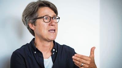 Brigitte Fürer spricht über die Diskussionskultur unter den Gemeinden, umgesetzte Projekte und Herausforderungen. (Bild: Reto Martin)