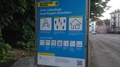 Am Montagmorgenin der Aula der Kantonsschule am Brühl. (Bild: Kanti am Brühl (10.8.2020))