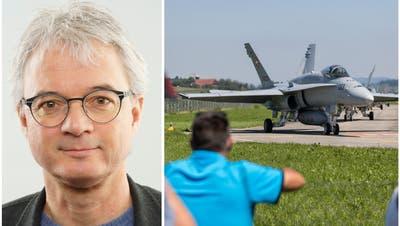 Luzius Hafen, Präsident des Schutzverbands der Bevölkerung um den Flugplatz Emmen. (PD)