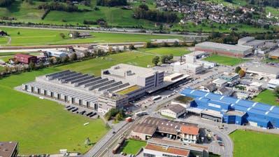 Der Dätwyler-Hauptsitz in Schattdorf. (Florian Arnold)