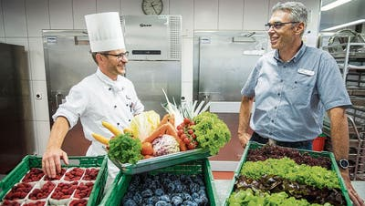 «Letztlich ist jedes Kilogramm Lebensmittelabfall ein Kilogramm zu viel»: Das Alterszentrum Park in Frauenfeld nimmt an einer nationalen Vergleichsstudie zur Vermeidung von Foodwaste teil