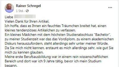 Nachdem er eine «Tagblatt»-Journalistin verunglimpft hat: Kanton St.Gallen prüft Schritte gegen Wattwiler Amtsarzt