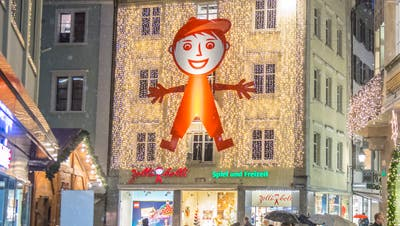 Der Spielzeugladen Zollibolli schliesst seinen Standort an der Maktgasse. (Bild: David Gadze)