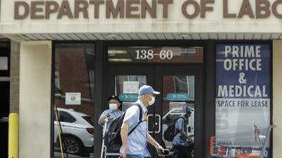 Weniger Anträge auf Arbeitslosenhilfe in den USA