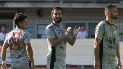 Der FC Rotkreuz will sich am Samstag mit einem Sieg von seinem Publikum verabschieden. (Bild: Matthias Jurt, Rotkreuz, 1. August 2020)