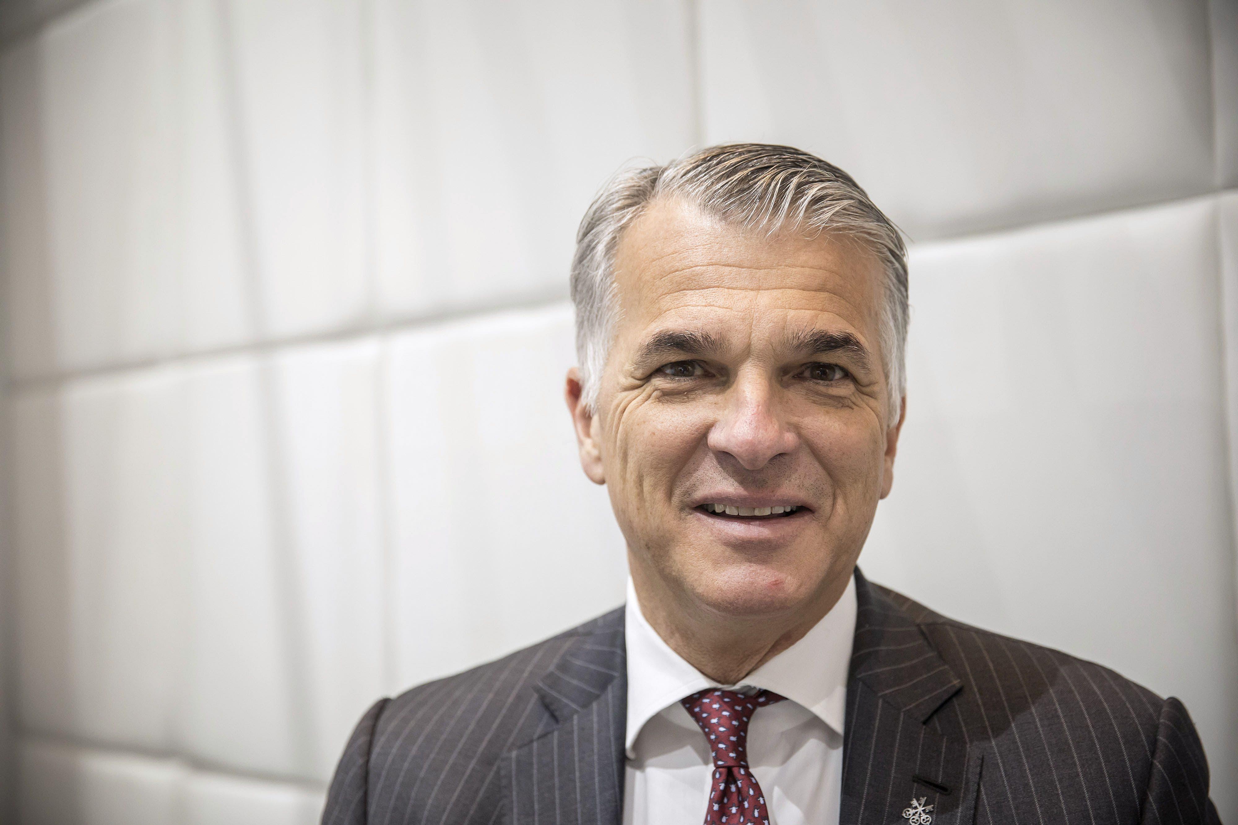 «Ich bin dagegen. Der Standort Schweiz ist auf die unkomplizierte Rekrutierung internationaler Arbeitskräfte angewiesen.» Sergio Ermotti, Konzernchef UBS.