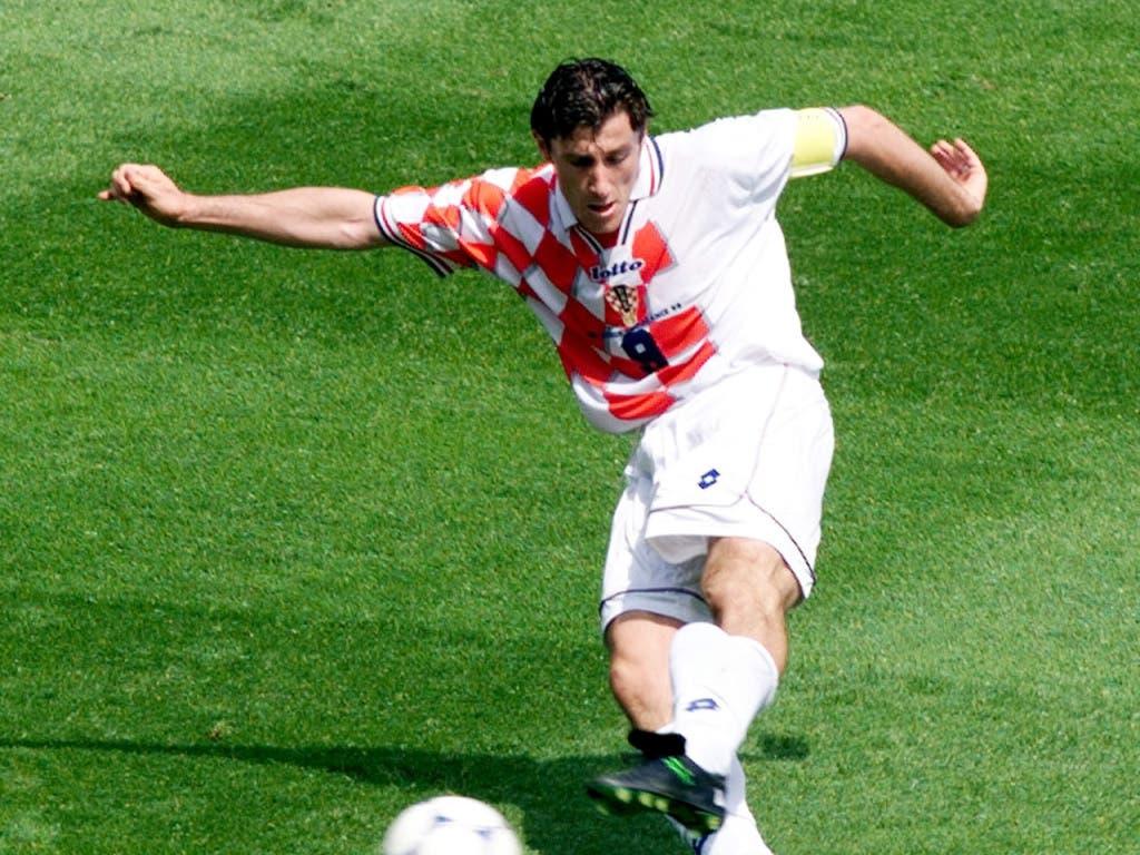 Auch einer, der seine ersten Länderspieltore für Jugoslawien erzielte und danach mit Kroatien grosse Erfolge feierte: der heutige Verbandspräsident Davor Suker