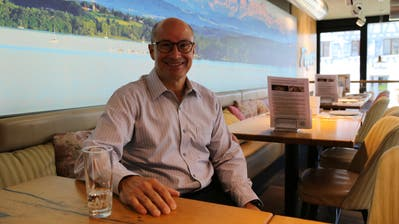 Diego Studerus (FDP), der bisherige GPK-Präsident, bewirbt sich im Herbst neu für einen Sitz im Gemeinderat von Steinach. (Bild: Jolanda Riedener)