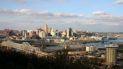 An drei Orten verschiedenen Orten in der Stadt Cincinnati kam es zu Schussabgaben. (Bild: Wikipedia)