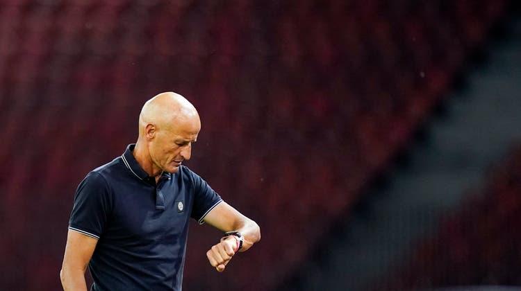 Trainer Peter Zeidler über die Saisonvorbereitung: «Wir können das Ganze ohne Hektik angehen.» (Claudio Thoma / freshfocus)