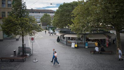 Blick auf den St.Galler Marktplatz. (Bild: Benjamin Manser (17.8.2020))