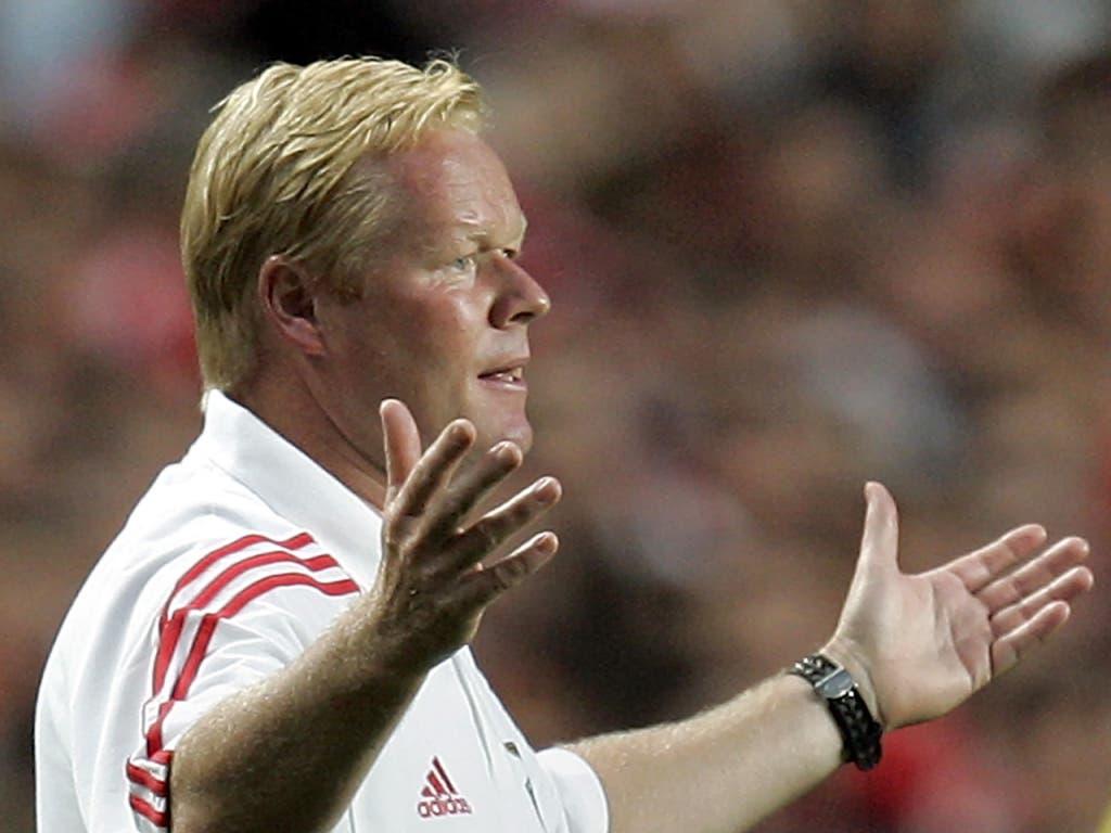 Ronald Koeman soll nach Medienberichten Barcelonas neuer Coach werden