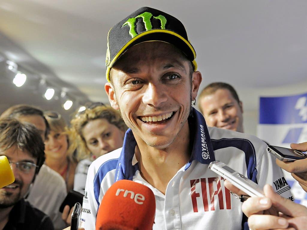 Mit seiner lausbubenhaften Fröhlichkeit wurde Rossi im Nu zum Liebling der Massen