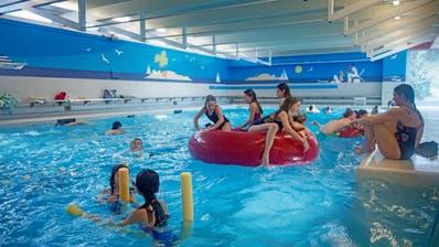 Aquacenter Kerns fotografiert am 17. Januar 2018. Hallenbad, Schwimmbad, (Corinne Glanzmann (neue Nz) / Neue Obwaldner Zeitung)