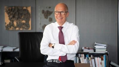 Zu Kampfwahlen ums St.Galler Stadtpräsidium kommt es am 27. September, weil Thomas Scheitlin auf Ende Jahr zurücktritt. (Bild: Ralph Ribi (28.4.2020))