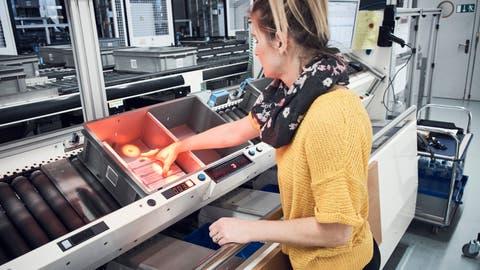 Automation ist bei Zur Rose schon lange eingeführt. DieDigitalisierung wird vorangetrieben. (PD)