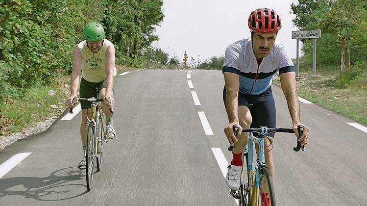 Mike und Kyle, die wunderbaren Charaktere im Spielfilm «The Climb», erklimmen den Berg des Lebens mit dem Velo