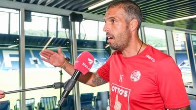 FCL-Trainer Fabio Celestini muss sich an der Medienkonferenz von heute Mittwoch, 19. August 2020, erklären. (Bild: Martin Meienberger/Freshfocus)