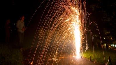 Die vielfach gezündeten Feuerwerkskörper und Meldungen zu Rühestörungen haben die Blaulichtorganisationen am 1. August auf Trab gehalten. (Keystone)