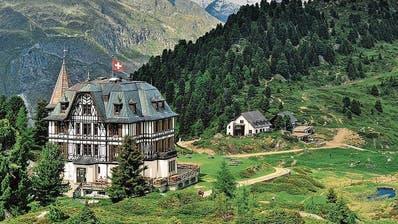 Hier logierte früher der englische Adel: Jetzt ist das Gebäude auf dem Aletsch ein Umwelt-Bildungszentrum