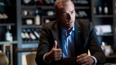 EVZ-CEO Patrick Lengwiler. (Boris Bürgisser)