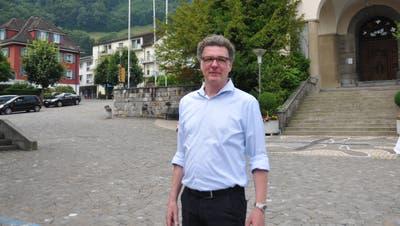 Der Hergiswiler Architekt und FDP-Landrat Niklaus Reinhard. (Bild: Matthias Piazza (Hergiswil, 21. Juni 2018))