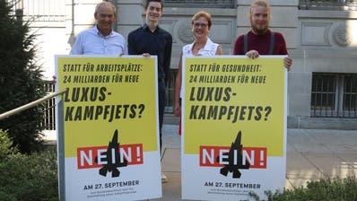 Für das Thurgauer Nein-Komitee ist die vorgesehene Beschaffung von neuen Kampfjets falsch investiertes Geld. (Christof Lampart)