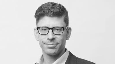 Jérôme Martinu, Chefredaktor Luzerner Zeitung und Regionalausgaben. (Bild LZ)