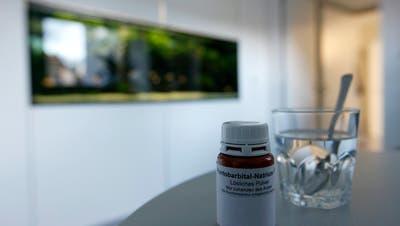 Das Schlafmittel Pentobarbital-Natrium kommt bei der Suizidbeihilfe zum Einsatz. (Alessandro Della Bella / KEYSTONE)