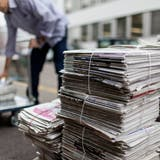 Für Jugendorganisationen stellte die Altpapiersammlung eine wichtige Einnahmequelle dar. (Symbolbild) (Bild: Gaetan Bally / Keystone)