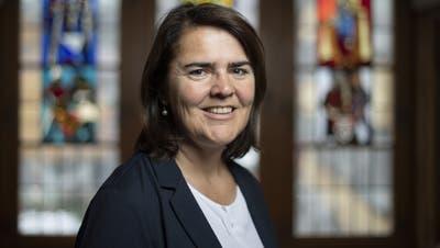 Antonia Fässler blickt auf eine bewegte Amtszeit zurück. (Bild: Gian Ehrenzeller / KEYSTONE)