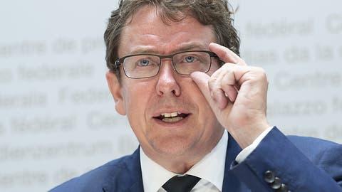 SVP-Präsident Rösti wirbt für Begrenzungsinitiative