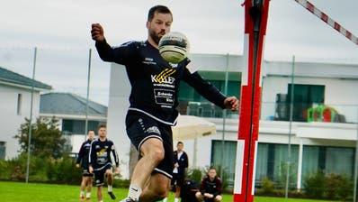 Philipp Jung und seine Teamkollegen der FG Rickenbach-Wilen spielten stark auf, zu Punkten reichte es aber dennoch nicht. (Bilder: Tim Frei)