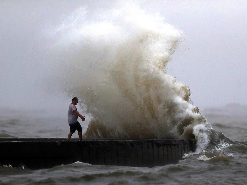 Die amerikanische Südstaaten-Metropole New Orleans bereitet sich auf einen weiteren Hurrikan vor.