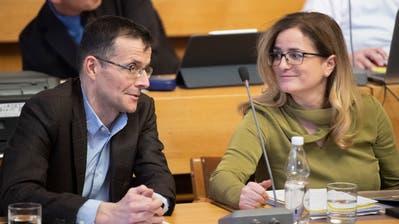 Überraschung im links-grünen Lager: Die Grünen unterstützen im Kampf ums St.Galler Stadtpräsidium nicht etwa Baudirektorin Maria Pappa (SP), sondern den parteilosen Schuldirektor Markus Buschor. (Urs Bucher)