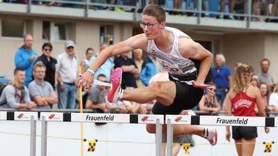 Nick Rüegg war eine der Thurgauer Medaillenhoffnungen an den Schweizer Meisterschaften in Frauenfeld. Er wurde den hohen Erwartungen gerecht. (Mario Gaccioli)