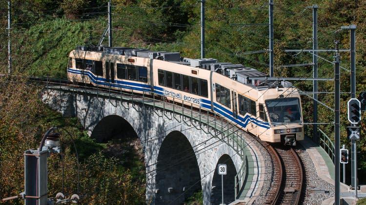 Die Züge im Centovalli sollen ersetzt werden. (Keystone)