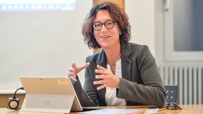 Manuela Fritschi ist seit sechs Jahren Gemeindeschreiberin von Aadorf. Anfangs 2021 wechselt die Eschlikerin nach Sirnach. ((Bild: Hanspeter Schiess))