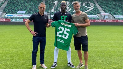 Der StürmerÉlie Youan stösst leihweise zum FC St.Gallen (Bild: PD)