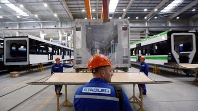 Entgegen früherer Meldungen plant Stadler keinen weiteren Ausbau seines Werks nahe Minsk. (Tatyana Zenkovich/EPA (Fanipol, 3. März 2020))
