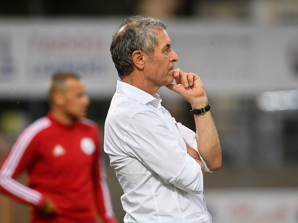 Für Trainer Marcel Koller geht die Zeit beim FC Basel in dieser Woche zu Ende