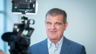 Peter Spuhler, der starke Mann bei Stadler. (Bild: Urs Bucher)