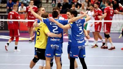 Volley Amriswil kann Anfang Oktober vor heimischem Publikum um die Teilnahme an der Volleyball-Königsklasse kämpfen. (Mario Gaccioli (4. Januar 2020))