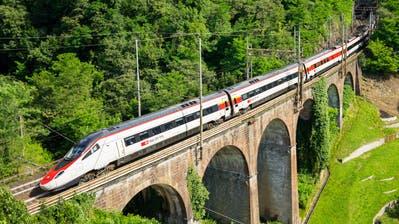 Der ETR610 «Astoro» wird neu zwischen Zürich und München verkehren. (Bild: SBB)