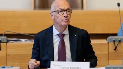 Stadtpräsident Thomas Scheitlin. (Bild: Nik Roth (16. Juni 2020))