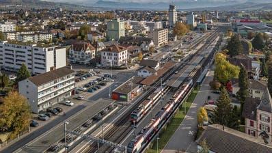 Der Bahnhof Sursee (Bild: Pius Amrein (6. November 2018))