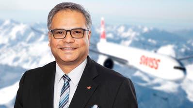 Ashwin Bhat (51):«Der letzte Flug mit Masken war vor etwa zwei Wochen.» (Swiss)