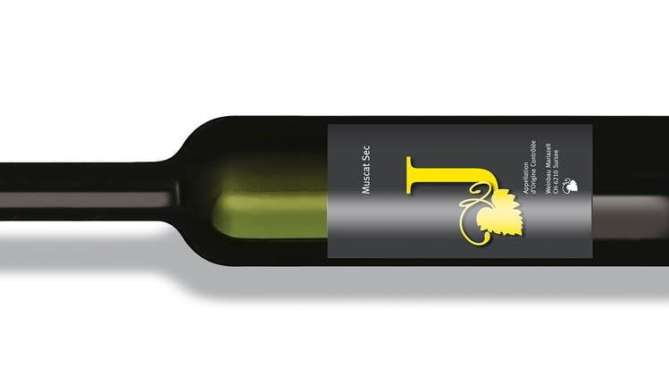 Der «J Muscat Sec 2019» ist gekeltert aus den Sorten Muscat Oliver und Solaris. (Bild: Weinbau Mariazell)