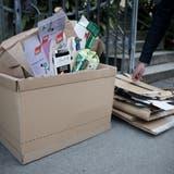 Luzerner Pfadis und Jublas dürfen laut Stadtratsbeschluss keinen Karton mehr einsammeln. (Symbolbild: Manuela Jans-Koch)